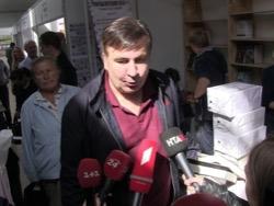 """""""Они нас всех разводят"""": Саакашвили сам приехал в СБУ на допрос"""
