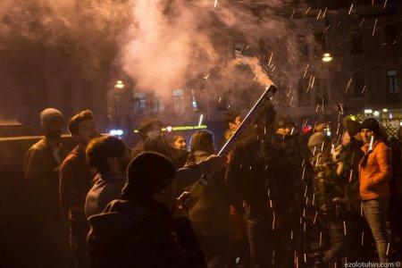 Фото взрывов на грузинских улицах: как в Тбилиси встретили новый год