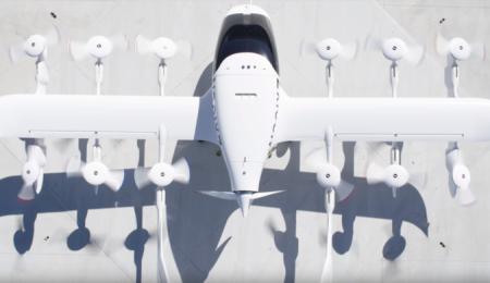 Испытания летающего автомобиля сняли на видео