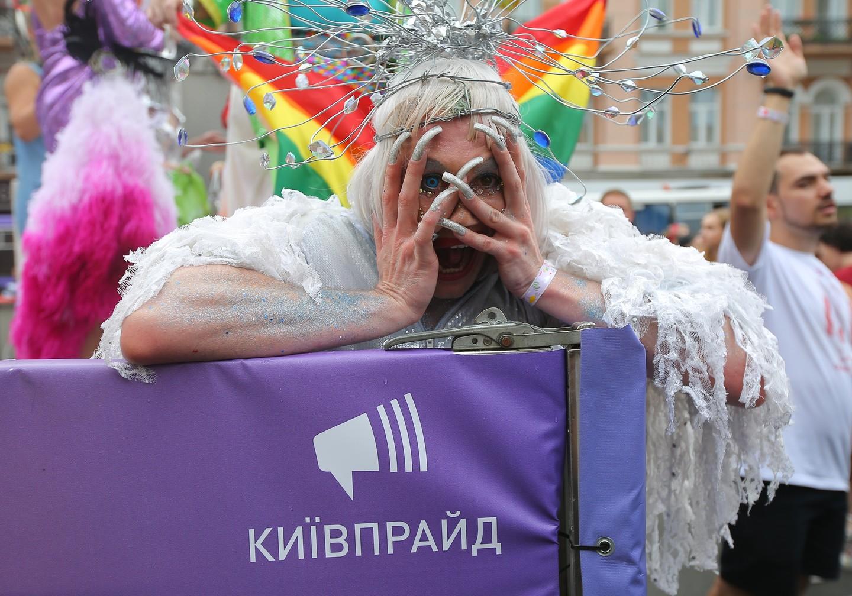 Гей парад в киеве