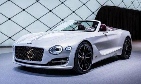 Bentley займется электрическими автомобилями для снижения среднего уровня выбросов СО2